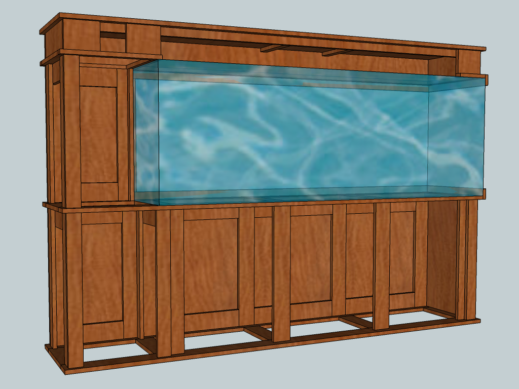 150 Gallon Tank Stand Build : aquarium canopy designs - memphite.com